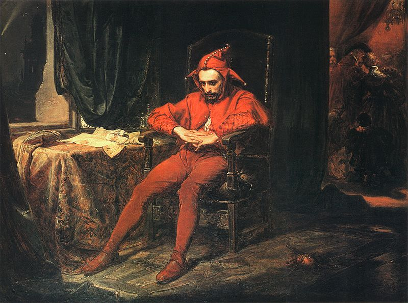 Stanczyk painting of the fool